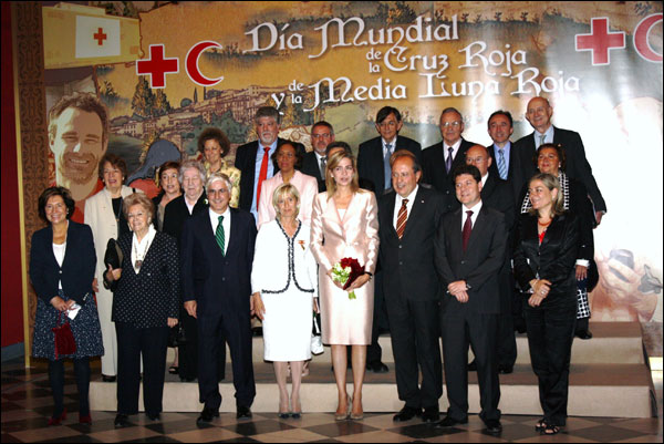 Premiados en el Día Mundial de la Cruz Roja y de la Media Luna Roja.