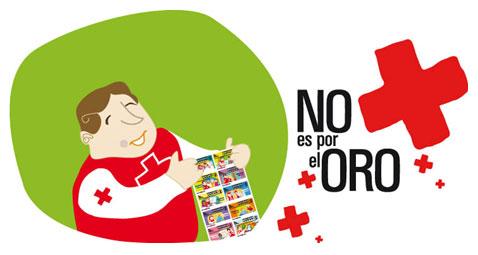 Imagen de la campaña del Sorteo de Oro de Cruz Roja Española.