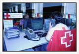 Imagen del Centro de Coordinación donde se reciben las llamadas del servicio de teleasistencia móvil para mujeres víctimas de violencia de género.