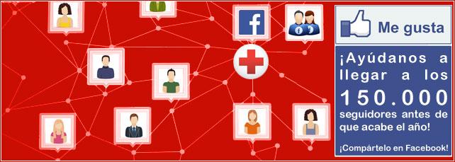 Ir al Facebook de Cruz Roja Española