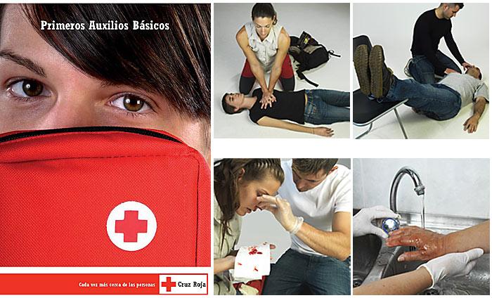 Cursos On-line Primeros Auxilios Cruz Roja Española