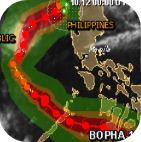 Tifón Bopha: Filipinas