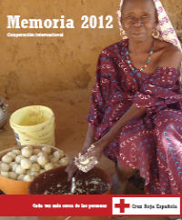 Memoria 2012. Cooperación Internacional