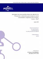 Evaluación del Proyecto de Salud en Comunidades de Perú