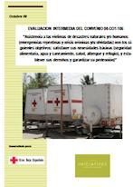 Evaluación Convenio de Emergencias AECID 2006