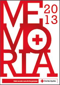 Memoria 2013. Cruz Roja Española