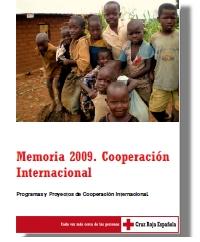Memoria 2009. Cooperación internacional
