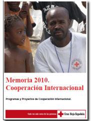 Memoria 2010. Cooperación Internacional