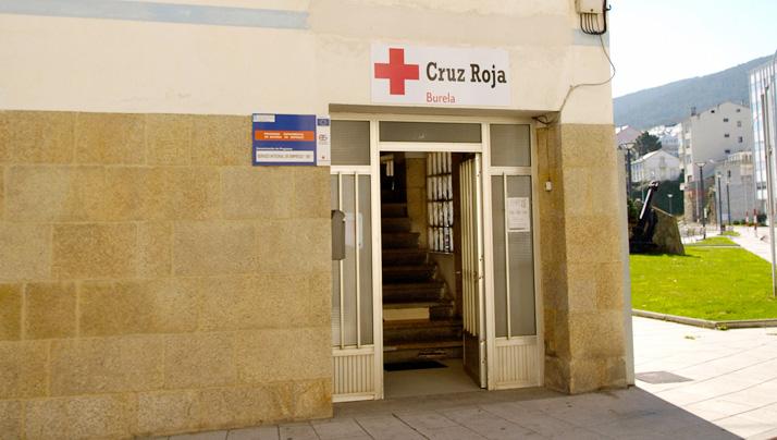 Cruz Roja en Burela