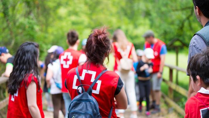 Cruz Roja Juventud. Sección juvenil de Cruz Roja