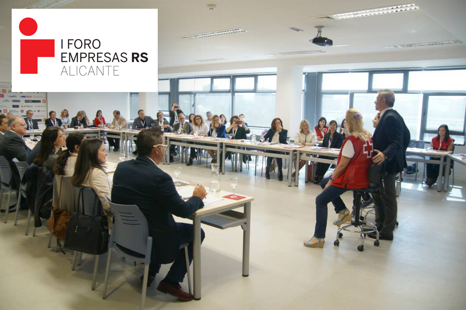 Provincia de Alicante - foro de empresas RS - Cruz Roja